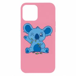 Чехол для iPhone 12 Pro Max Blue koala
