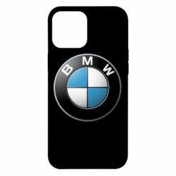 Чехол для iPhone 12 Pro Max BMW Logo 3D