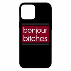 Чехол для iPhone 12 Pro Max Bonjour bitches