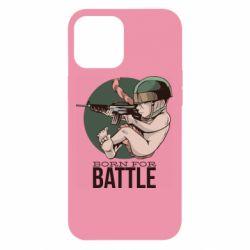 Чехол для iPhone 12 Pro Max Born For Battle