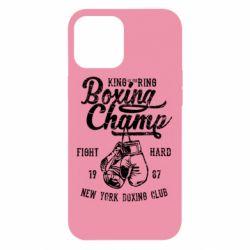 Чохол для iPhone 12 Pro Max Boxing Champ