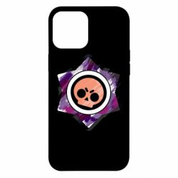 Чехол для iPhone 12 Pro Max Brawl logo purple