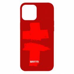 Чехол для iPhone 12 Pro Max Brutto Logo