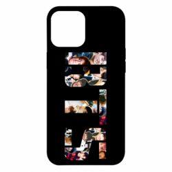 Чехол для iPhone 12 Pro Max BTS collage