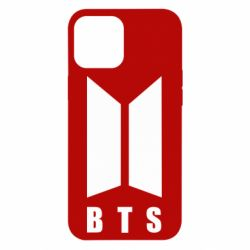 Чехол для iPhone 12 Pro Max BTS logotype