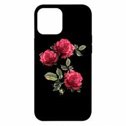 Чехол для iPhone 12 Pro Max Буква Е с розами