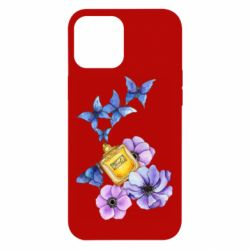 Чохол для iPhone 12 Pro Max Butterflies and perfumes