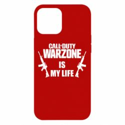 Чехол для iPhone 12 Pro Max Call of duty warzone is my life M4A1
