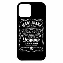 Чохол для iPhone 12 Pro Max Cannabis label