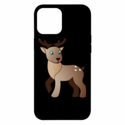 Чехол для iPhone 12 Pro Max Cartoon deer
