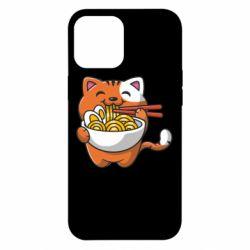 Чохол для iPhone 12 Pro Max Cat and Ramen