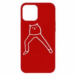 Чохол для iPhone 12 Pro Max Cat in pants
