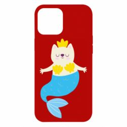 Чехол для iPhone 12 Pro Max Cat-mermaid
