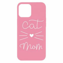 Чохол для iPhone 12 Pro Max Cat mom