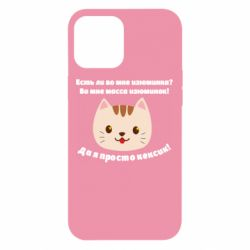Чохол для iPhone 12 Pro Max Cat's muzzle