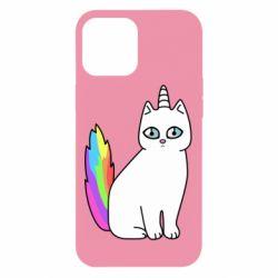Чехол для iPhone 12 Pro Max Cat Unicorn