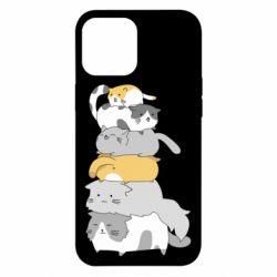 Чохол для iPhone 12 Pro Max Cats