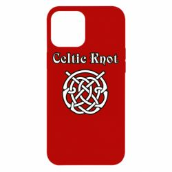 Чохол для iPhone 12 Pro Max Celtic knot black and white