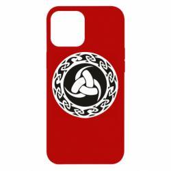 Чохол для iPhone 12 Pro Max Celtic knot circle