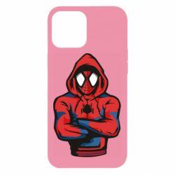 Чохол для iPhone 12 Pro Max Людина павук в толстовці