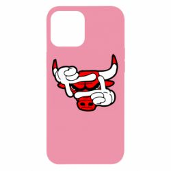 Чехол для iPhone 12 Pro Max Chicago Bulls бык