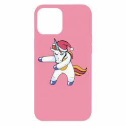 Чохол для iPhone 12 Pro Max Christmas Unicorn