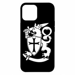 Чехол для iPhone 12 Pro Max Coat of arms of Finland Leo