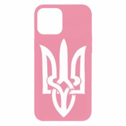 Чехол для iPhone 12 Pro Max Coat of arms of Ukraine torn inside
