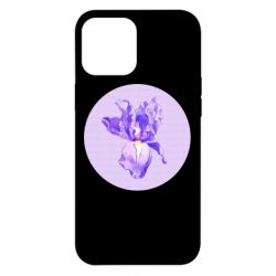Чохол для iPhone 12 Pro Max Cockerel flower and the inscription Good day