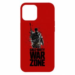 Чехол для iPhone 12 Pro Max COD Warzone Splash