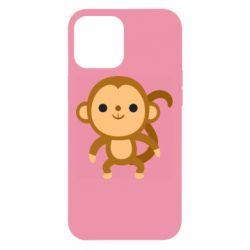 Чохол для iPhone 12 Pro Max Colored monkey
