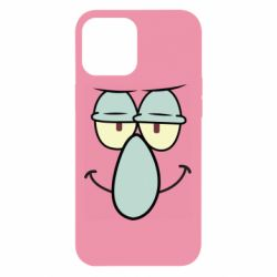 Чехол для iPhone 12 Pro Max Contented emoticon with a big nose