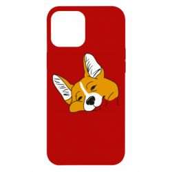 Чохол для iPhone 12 Pro Max Corgi is dozing