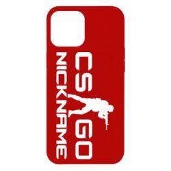 Чехол для iPhone 12 Pro Max Counter-Strike nickname