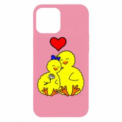 Чохол для iPhone 12 Pro Max Couple and heart