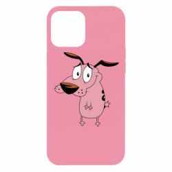 Чохол для iPhone 12 Pro Max Courage - a cowardly dog