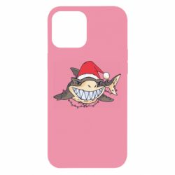 Чехол для iPhone 12 Pro Max Crhistmas Shark