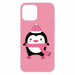 Чехол для iPhone 12 Pro Max Cute Christmas penguin