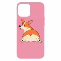Чехол для iPhone 12 Pro Max Cute corgi