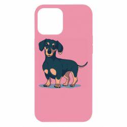 Чехол для iPhone 12 Pro Max Cute dachshund