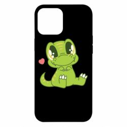 Чехол для iPhone 12 Pro Max Cute dinosaur