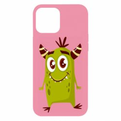 Чохол для iPhone 12 Pro Max Cute green monster