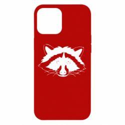 Чохол для iPhone 12 Pro Max Cute raccoon face