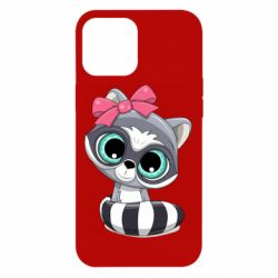 Чехол для iPhone 12 Pro Max Cute raccoon