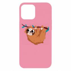 Чохол для iPhone 12 Pro Max Cute sloth