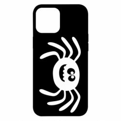 Чехол для iPhone 12 Pro Max Cute spider with mustache