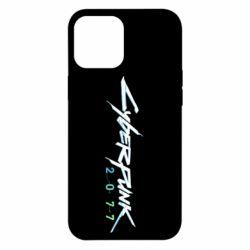 Чохол для iPhone 12 Pro Max Cyberpunk 2077 logo