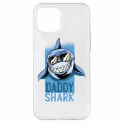 Чехол для iPhone 12 Pro Max Daddy shark