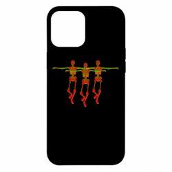 Чехол для iPhone 12 Pro Max Dancing skeletons