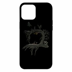 Чехол для iPhone 12 Pro Max Dark autumn forest